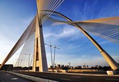 Μαλαισιανό γέφυρα, σχέδιο και σχέδιο Στοκ Εικόνα