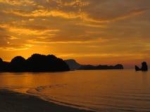 Μαλαισιανό ηλιοβασίλεμα Στοκ εικόνα με δικαίωμα ελεύθερης χρήσης