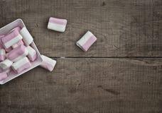 Μαλακά εύγευστα marshmallows Στοκ Εικόνες
