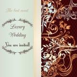 Μαλακά και τρυφερά χρώματα γαμήλιας πρόσκλησης Στοκ φωτογραφία με δικαίωμα ελεύθερης χρήσης