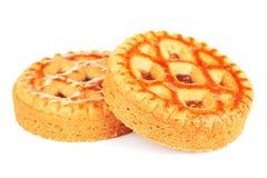 Μαλακά μπισκότα με την κόλλα της Apple Στοκ εικόνες με δικαίωμα ελεύθερης χρήσης