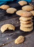 Μαλακά μπισκότα πιπεροριζών - σπιτικά Στοκ φωτογραφία με δικαίωμα ελεύθερης χρήσης