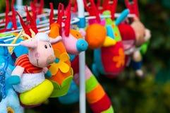Μαλακά παιχνίδια μωρών Στοκ φωτογραφίες με δικαίωμα ελεύθερης χρήσης