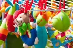 Μαλακά παιχνίδια μωρών Στοκ φωτογραφία με δικαίωμα ελεύθερης χρήσης