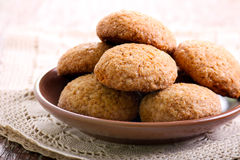 Μαλακά πικάντικα καφετιά μπισκότα ζάχαρης Στοκ φωτογραφίες με δικαίωμα ελεύθερης χρήσης