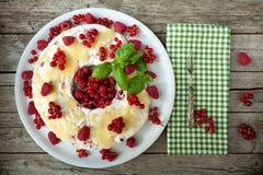 Μαλακά φρούτα Semifreddo Στοκ εικόνες με δικαίωμα ελεύθερης χρήσης