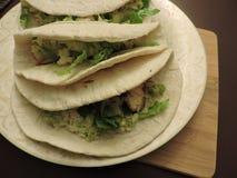 μαλακά tacos Στοκ φωτογραφία με δικαίωμα ελεύθερης χρήσης