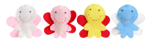 Μαλακές κούκλες νεράιδων παιχνιδιών Στοκ Εικόνες