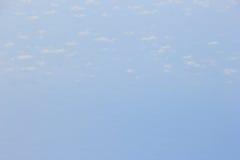 Μαλακή εστίαση μπλε ουρανού και σύννεφων Στοκ Φωτογραφία