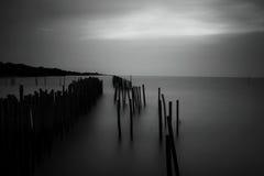 μαλακή θάλασσα κινήσεων Στοκ Φωτογραφίες