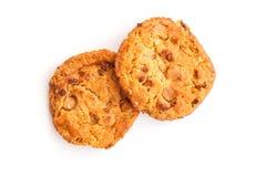 Μαλακή πίτα μπισκότων της Apple καραμέλας Στοκ Εικόνα