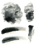 Μαλακή σύσταση επίδρασης μελανιού Στοκ Εικόνες