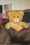 Μαλακός μπεζ teddy αντέχει Στοκ Εικόνες