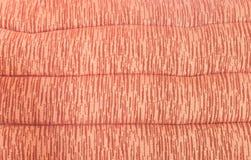 Μαλακό λαμπρό κόκκινο υπόβαθρο μαξιλαριών σχεδίων για το υλικό επίπλων Στοκ Εικόνες