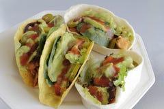Μαλακό και σκληρό κοτόπουλο Tacos Στοκ φωτογραφία με δικαίωμα ελεύθερης χρήσης