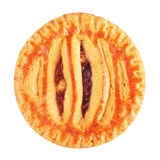 Μαλακό μπισκότο με την κόλλα της Apple Στοκ Εικόνες