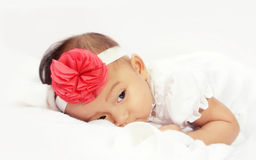 Μαλακό υπόλοιπο άνεσης μωρών στοκ εικόνα