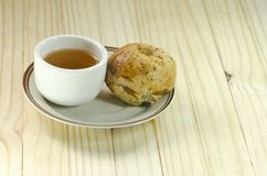 Μαλακό ψωμί κουλουριών Στοκ φωτογραφία με δικαίωμα ελεύθερης χρήσης