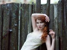 μαλλιαρό κόκκινο λευκό &kappa Στοκ Φωτογραφίες