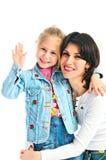 ΜΑ και κόρη στοκ φωτογραφία