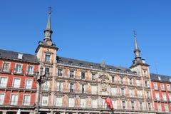 Μαδρίτη - δήμαρχος Plaza Στοκ Εικόνα