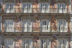 Μαδρίτη Ισπανία: Δήμαρχος Plaza Στοκ Εικόνα