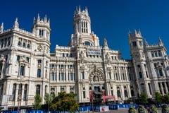 Μαδρίτη, Ισπανία - 17 Ιουνίου: Η αίθουσα πόλεων της Μαδρίτης στις 17 Ιουνίου 2017 Στοκ φωτογραφία με δικαίωμα ελεύθερης χρήσης
