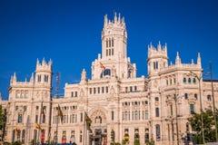 Μαδρίτη, Ισπανία - 15, τον Ιούνιο του 2014 Plaza de Cibeles, Μαδρίτη, Ισπανία Στοκ Εικόνες