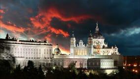 Μαδρίτη - Ισπανία, χρονικό σφάλμα απόθεμα βίντεο