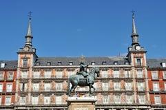 Μαδρίτη, Ισπανία Στοκ φωτογραφίες με δικαίωμα ελεύθερης χρήσης