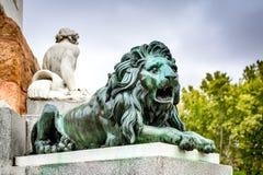 Μαδρίτη, Ισπανία - Plaza de Oriente Στοκ φωτογραφία με δικαίωμα ελεύθερης χρήσης