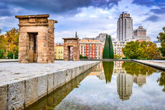 Μαδρίτη, Ισπανία - Templo de Debod Στοκ φωτογραφία με δικαίωμα ελεύθερης χρήσης