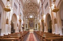 Μαδρίτη - σηκός της εκκλησίας SAN Jeronimo EL πραγματικό Στοκ Εικόνες