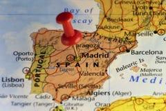 Μαδρίτη, πόλη capitol της Ισπανίας διανυσματική απεικόνιση