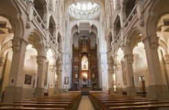 Μαδρίτη - σηκός της εκκλησίας των HL. Theresia Στοκ Φωτογραφίες