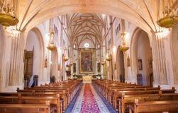 Μαδρίτη - σηκός της εκκλησίας SAN Jeronimo EL πραγματικό Στοκ εικόνες με δικαίωμα ελεύθερης χρήσης