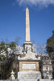 Μαδρίτη - DOS de Mayo monumento Στοκ φωτογραφία με δικαίωμα ελεύθερης χρήσης
