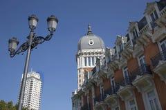 Μαδρίτη, Plaza de Espana Στοκ εικόνα με δικαίωμα ελεύθερης χρήσης