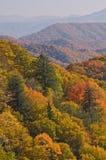 μεγάλα βουνά φθινοπώρου καπνώδη Στοκ φωτογραφία με δικαίωμα ελεύθερης χρήσης
