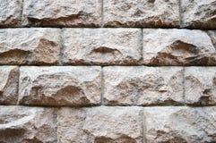 μεγάλα γκρίζα τούβλα πετρών Στοκ Εικόνα