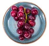 Μεγάλα κόκκινα γλυκά σταφύλια στοκ φωτογραφία με δικαίωμα ελεύθερης χρήσης