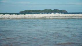 Μεγάλα κύματα σε σε αργή κίνηση απόθεμα βίντεο