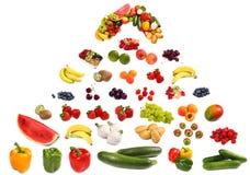 μεγάλα λαχανικά πυραμίδω&nu Στοκ Εικόνες