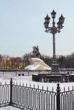 μεγάλα μνημεία Peter Πετρούπολη ST Στοκ Εικόνες