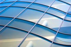 μεγάλα μπλε Windows Στοκ Εικόνες