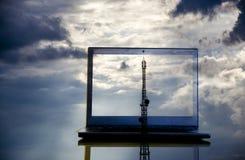 Μεγάλα στοιχεία, υπολογισμός σύννεφων Στοκ Εικόνες
