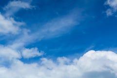 μεγάλα σύννεφα Στοκ Φωτογραφία