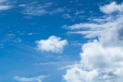 μεγάλα σύννεφα Στοκ εικόνα με δικαίωμα ελεύθερης χρήσης