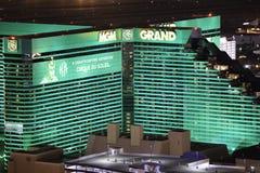 Μεγάλα χαρτοπαικτική λέσχη MGM και ξενοδοχείο Στοκ Εικόνες