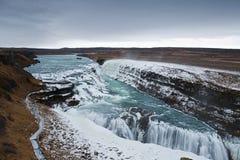 μεγάλα gullfoss Στοκ Φωτογραφία